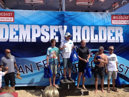 2016 WildCoast Dempsey Holder Contest