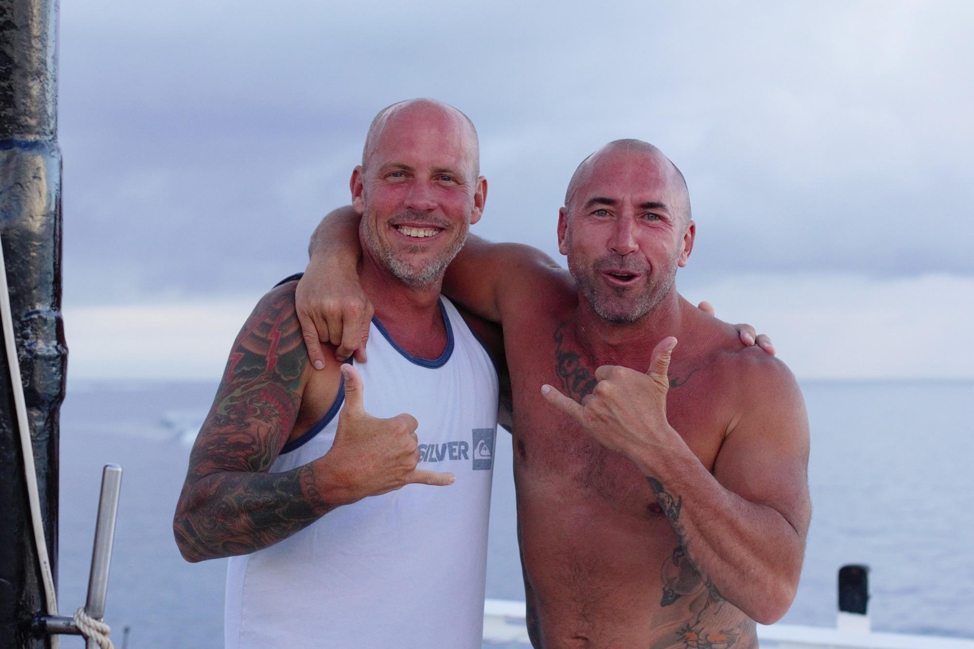 Eric and Capt Jason